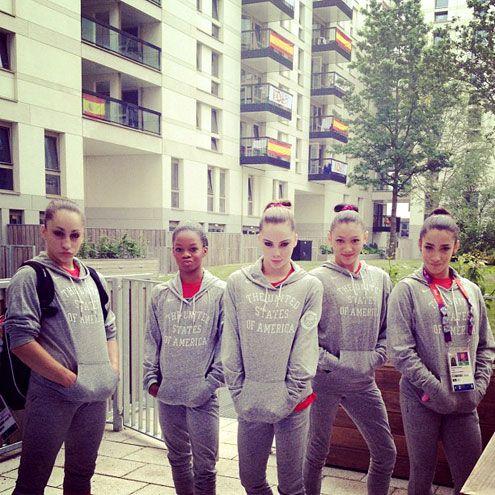 London Olympics 2012 - US Women's Gymnastics