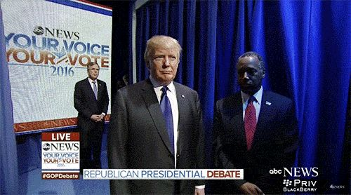 The GOP Candidates Debate Entrance Fail is a Gift   Awesomely Luvvie