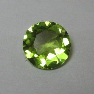 Batu Permata Round Green Peridot 1.87 carat