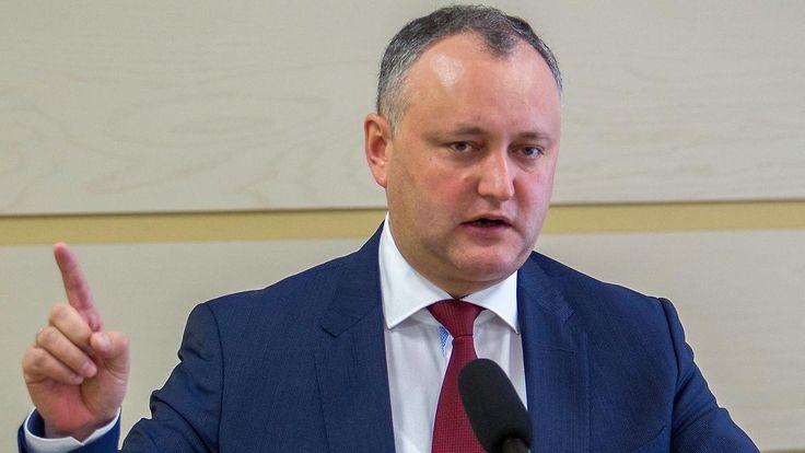 """Kampagne """"gegen die Oligarchen"""": Moldau wählt prorussischen Präsidenten"""