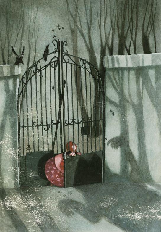 Babayaga, de Taï-Marc Le Thanh, illustrations de Rebecca Dautremer, ed. Gautier-Languereau http://www.vogue.fr/culture/a-lire/diaporama/contes-les-belles-histoires-1/7496#!babayaga-de-tai-marc-le-thanh-illustrations-de-rebecca-dautremer-ed-gautier-languereau
