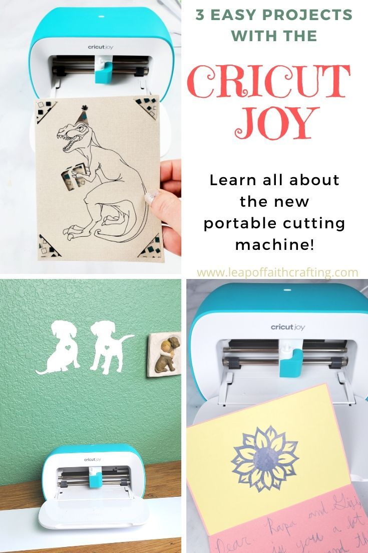 Three Easy Cricut Joy Projects To Make Now Leap Of Faith Crafting In 2020 Cricut Cricut Projects Vinyl Easy Projects