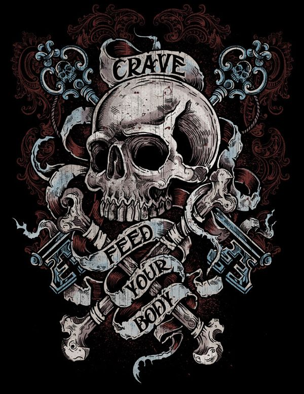 Designs for Crave by Derrick Castle, via Behance