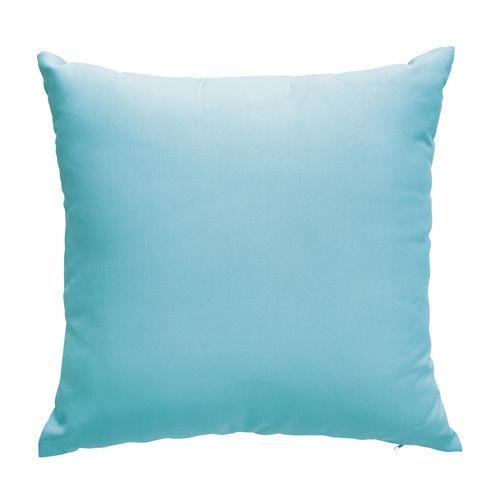 2 blauwe kussens 50 x 50