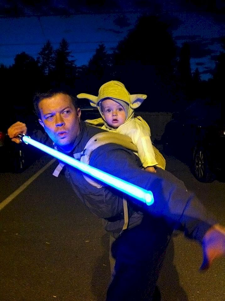 9. Luke and Yoda