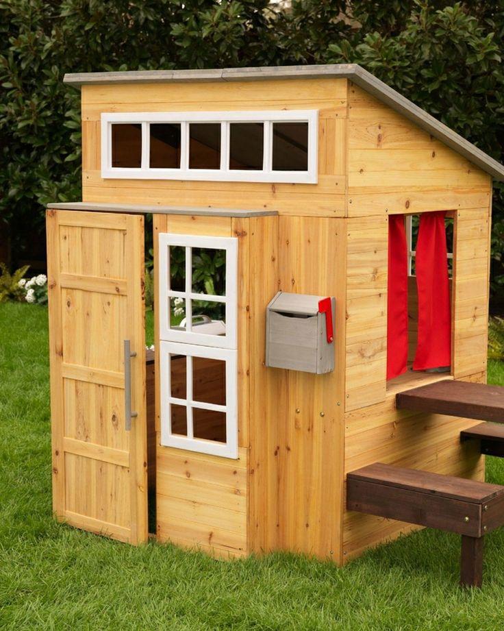 die 25+ besten modernes spielhaus ideen auf pinterest | kinder, Gartengestaltung
