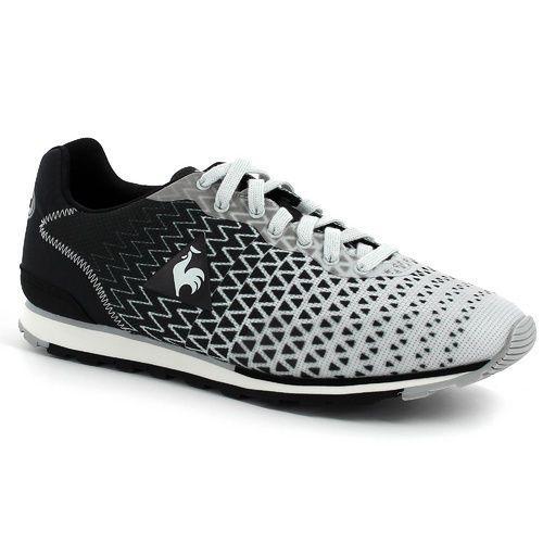 Details about Le Coq Sportif Runevo Gradient Print Men Running Shoes  1520699 Black/Grey