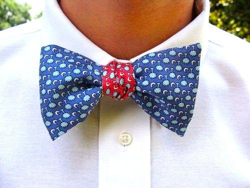 bow ties bow ties bow ties. Very nice reversible swag!