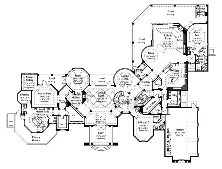 113 best images about european house plans the sater for Luxury european house plans