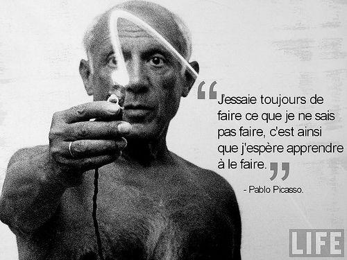 Pablo Picasso - 7 citations                                                                                                                                                                                 Plus