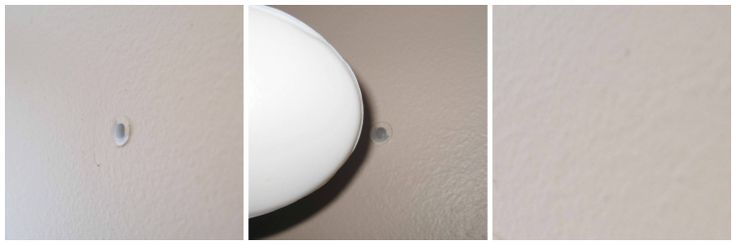 Moving out of a rental home? Fill nail holes with soap.