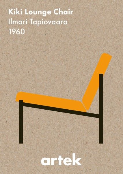 Ilmari Tapiovaara, Kiki Lounge Chair, 1960: Artek abc Collection