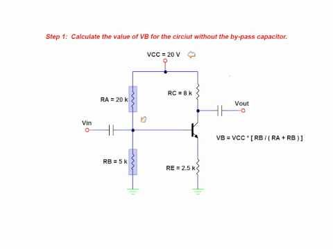The Effects Of A By-Pass Capacitor On Amplifier Voltage Gain - BJT common emitter amplifier - Tronnixx in Stock - http://www.amazon.com/dp/B015MQEF2K - http://audio.tronnixx.com/uncategorized/the-effects-of-a-by-pass-capacitor-on-amplifier-voltage-gain-bjt-common-emitter-amplifier/
