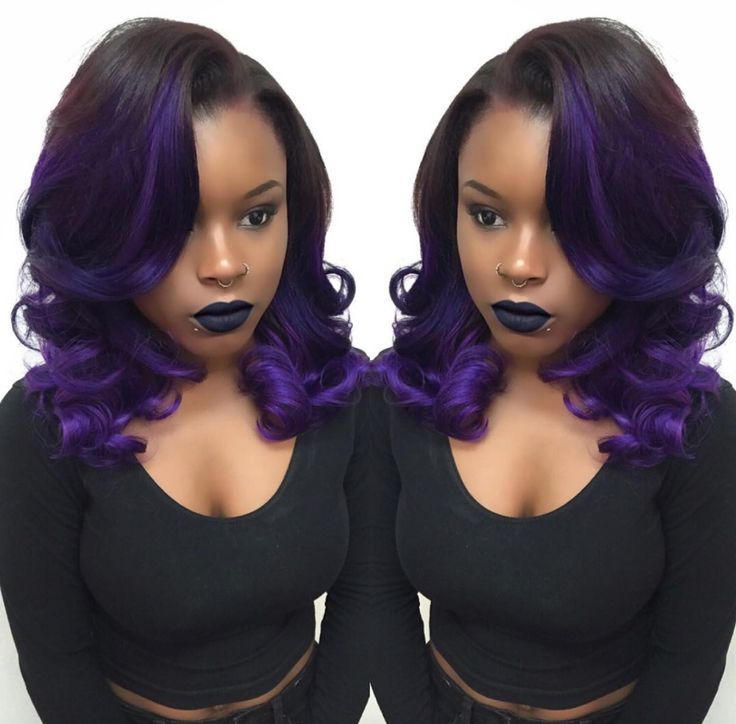 Love This Purple Ombre by @hairbylatise - http://community.blackhairinformation.com/hairstyle-gallery/weaves-extensions/love-this-purple-ombre-by-hairbylatise/