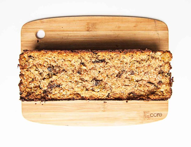 Great healthy almond pulp bread! Also possible with almond flour is stead of pulp.