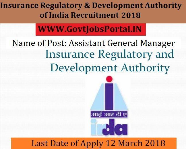 Insurance Regulatory And Development Authority Of India