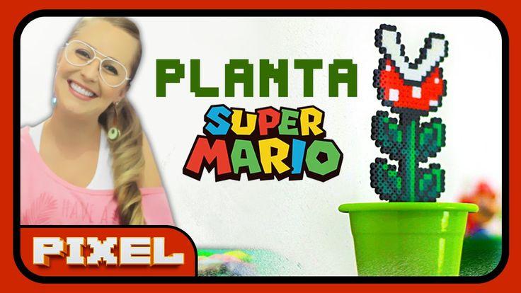 Planta do Super Mario | DiY Pixel Art