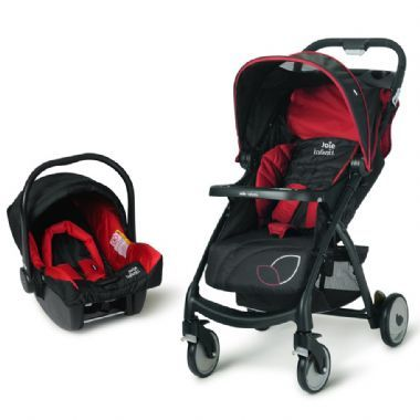 The Joie Baby Muze Travel System, includes Pram & Infant Carrier