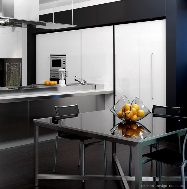 Black And White Kitchen Cabinets Pictures: 66 Best Images About Black And White Kitchens On Pinterest