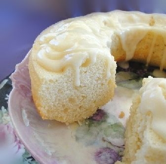 Sour Cream Cake Recipe With Butter-Rum Glaze   italian-dessert-recipes.com