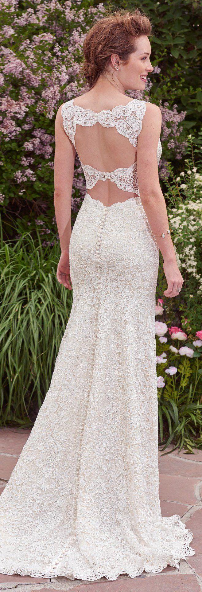 Wedding Dress by Rebecca Ingram - Hope | Less than $1,000 | #rebeccaingram #rebeccabride