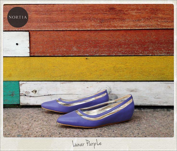 Nortia Flirty Lunar Purple visit www.nortia.shoes #fashion #street #smartlooks #leathershoes