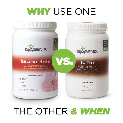 Difference Between IsaPro and IsaLean Shake  IsaFYI - Protein drinks got your confused ?  Like to learn more...contact me @ https://4amazingresults.isagenix.com