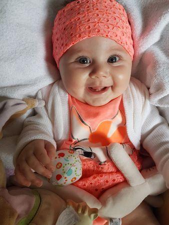 Eva, 5 mois