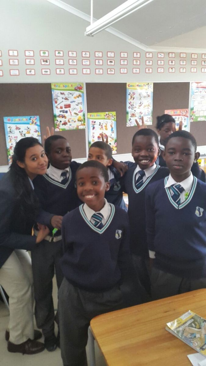 Some of our high school pupils provided a peer-led mobile lesson intervention, teaching practical lessons on several disciplines including dance to the children at West Riding.
