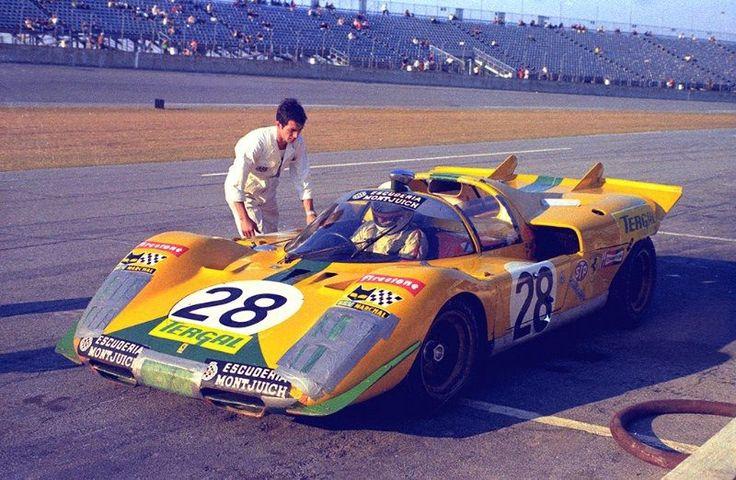 1971 Arturo Merzario / Jose Juncadella - Ferrari 512 S - Daytona 24