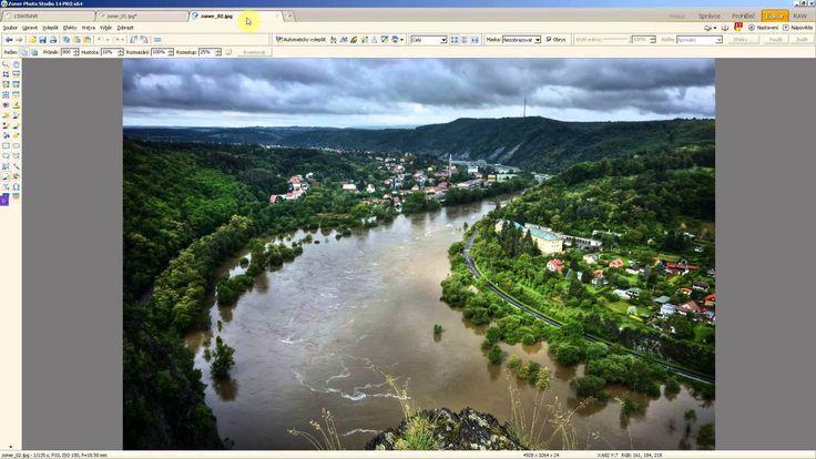 Panorama ze dvou fotek v Zoneru