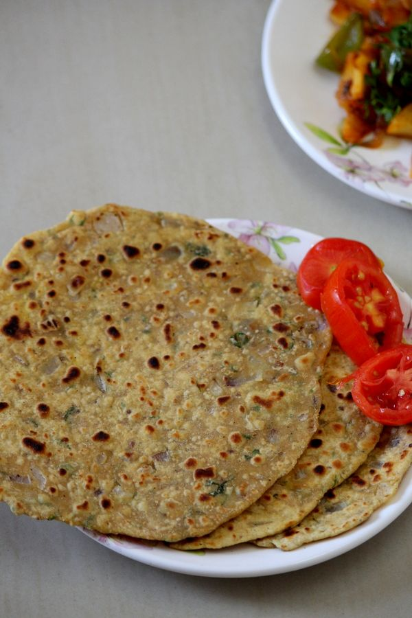 Missi Roti Recipe is an authentic roti recipe from Punjab and Rajasthan.  It is a basic roti recipe made by adding few spices almost similar to a paratha. #breakfast #indianbread #roti #breakfastideas