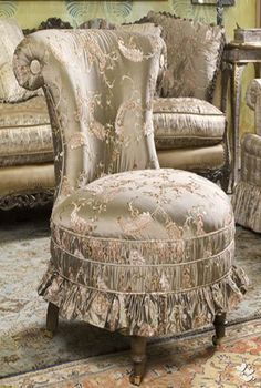 reupholstered victorian furniture in a modern style - Google Search