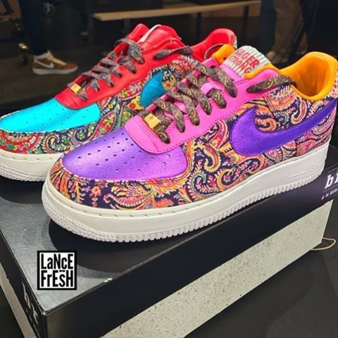 Bleacher Report has teamed up with Nike and Craig Sager to create 100 wild Air Force