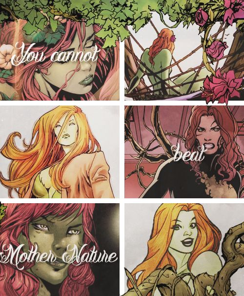 Dazzling DC Ladies Month - Pamela Isley | Poison Ivy