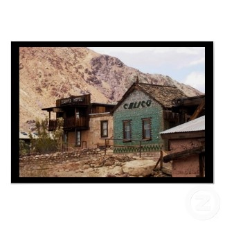 Ahhh, Good Old Calico Ghost Town. Near Barstow, CA.