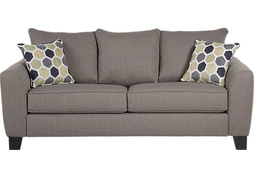 Shop for a Bonita Springs Gray Sleeper Sofa at Rooms To Go. Find Sleeper Sofas that will look great in your home and complement the rest of your furniture.