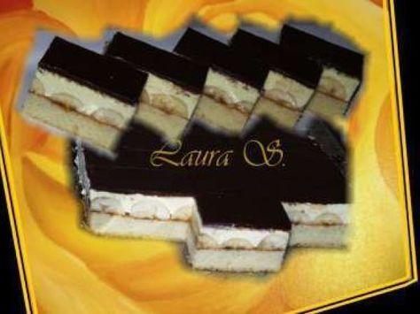 Prajitura cu crema de vanilie si banane, Rețetă de Laura S. - Petitchef