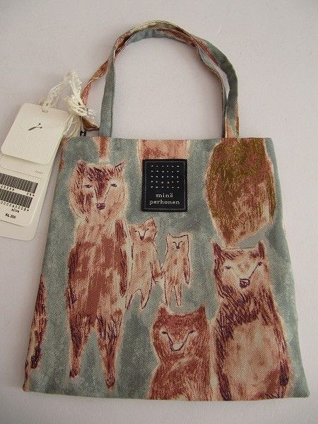 Minä Perhonen bag.  This was on a Japanese website, but the name of the designer looks like it could be Finnish...?