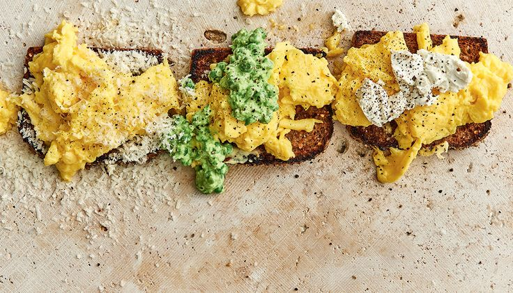Scrambled eggs three ways | Woolworths TASTE