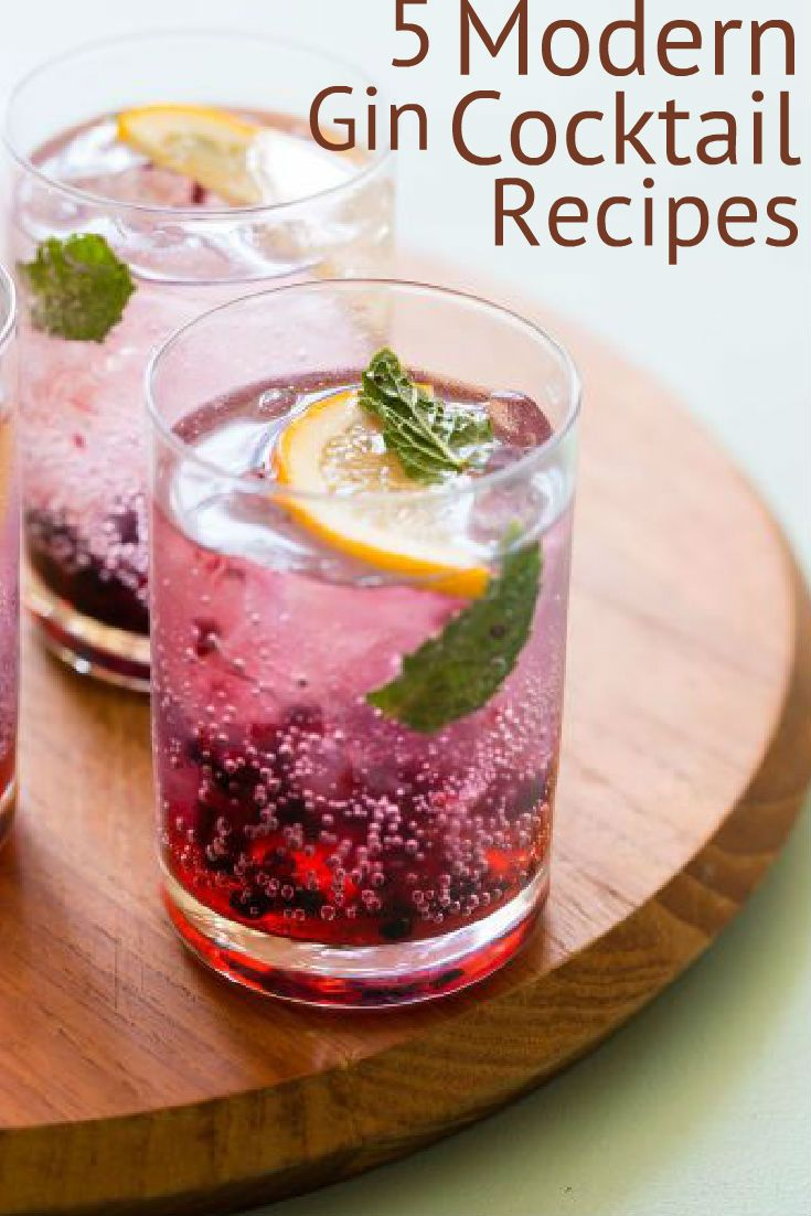 A classic gin cocktail often comes second best to a mojito, margarita, or anything infused with a bit of vodka. Rather than limiting your taste palette, we have tracked down five ways to update the classic gin cocktail (this is a strictly no gin and tonic zone), and make it super tasty for all to enjoy!