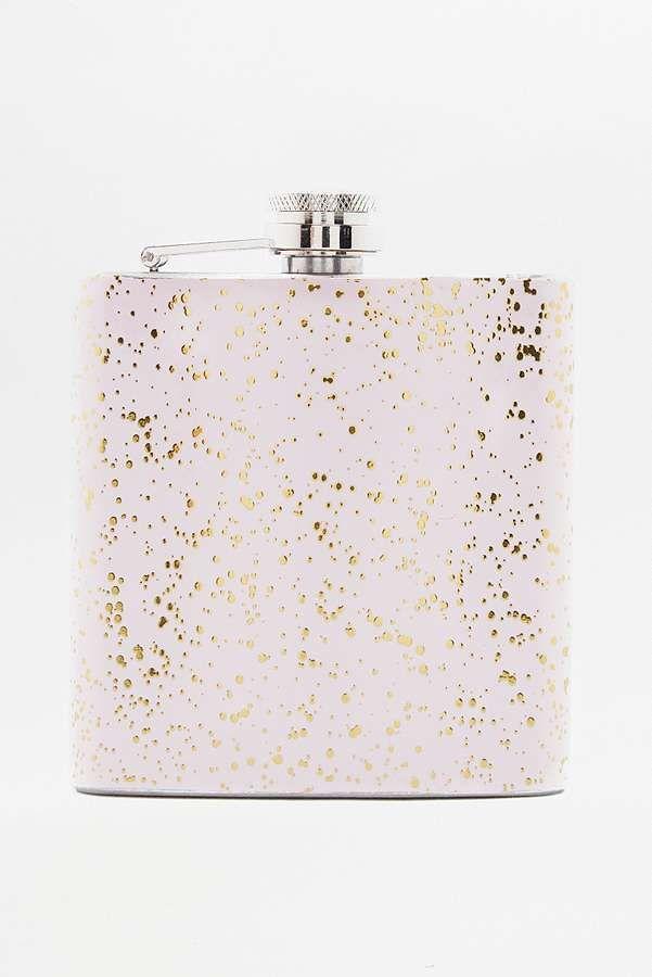 Speckled Hip Flask