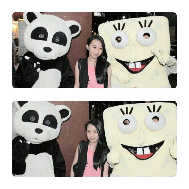 Spongebob & panda
