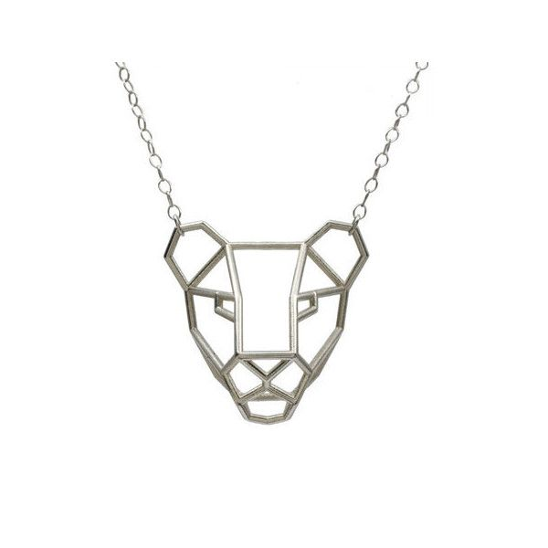 Lioness Pendant (€62) ❤ liked on Polyvore featuring jewelry, pendants, pendant jewelry and charm pendant