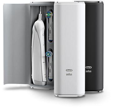 Stylowe etui z nowej serii Oral B PRO http://spadental.pl/szczoteczka-elektryczna-oral-pro-6000-smartseries-crossaction-910