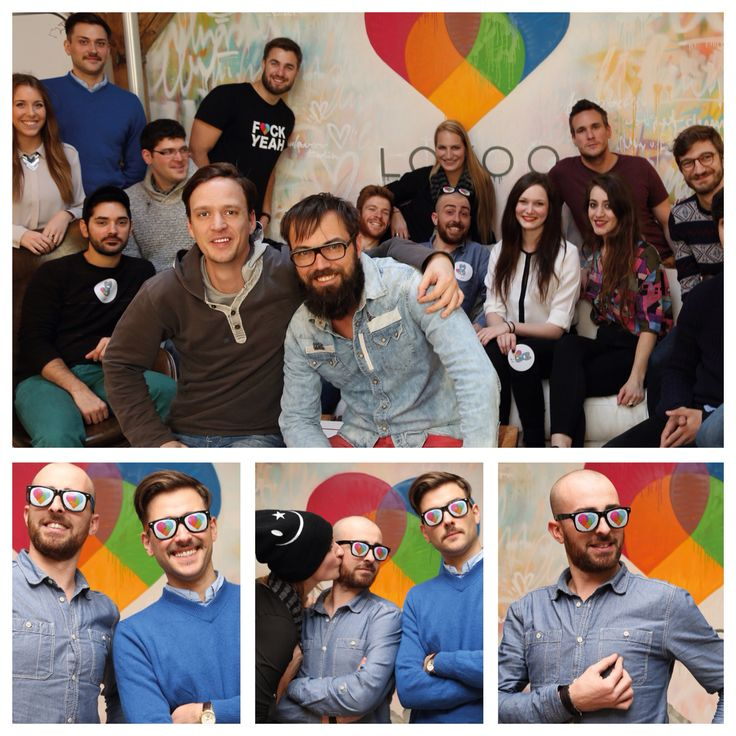 My awesome team at @lovoo! We rock