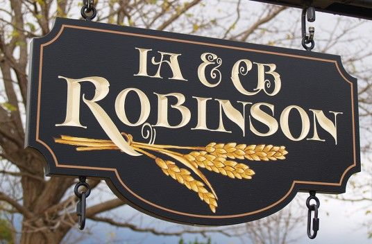Robinson Property Sign | Danthonia Designs