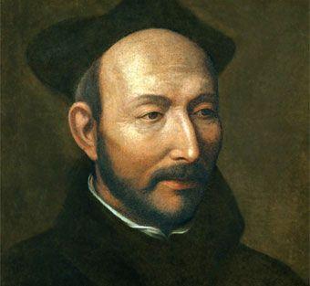 """Biografia de San Ignacio de Loyola. Al Superior General de los Jesuitas / Preposito General, le llaman """"el papa negro""""."""