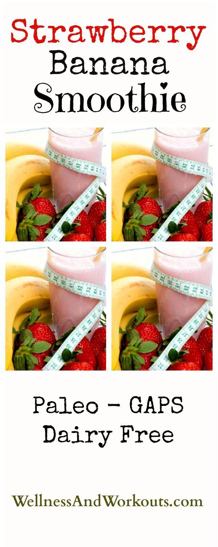 Erdbeer-Bananen-Smoothie-Rezept, mit Honig gesüßt. Klicken Sie sich durch, um d …   – Smoothies