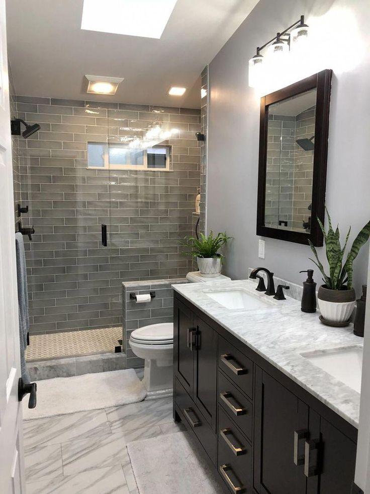 awesome 42 impressive master bathroom remodel ideas on bathroom renovation ideas 2020 id=33770